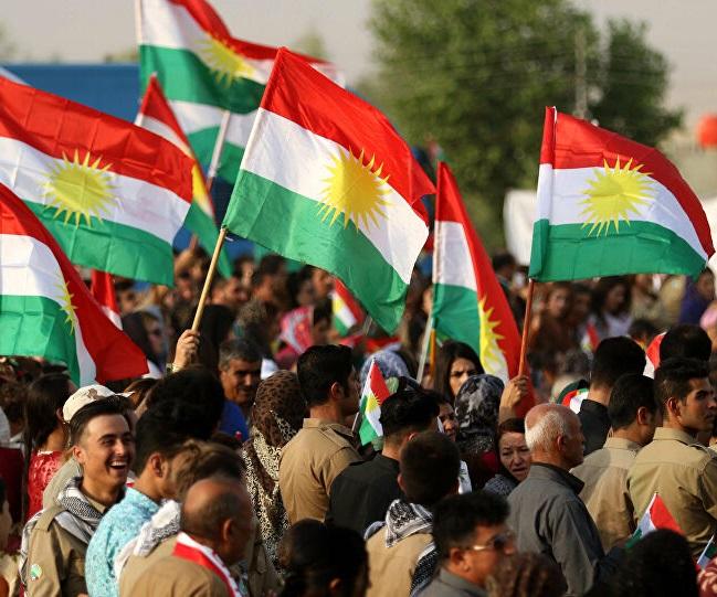 Sympathisers of Kurdish or Iranian Political parties